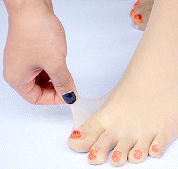 What if your toenails are bigger than the painted parts? D'oh!