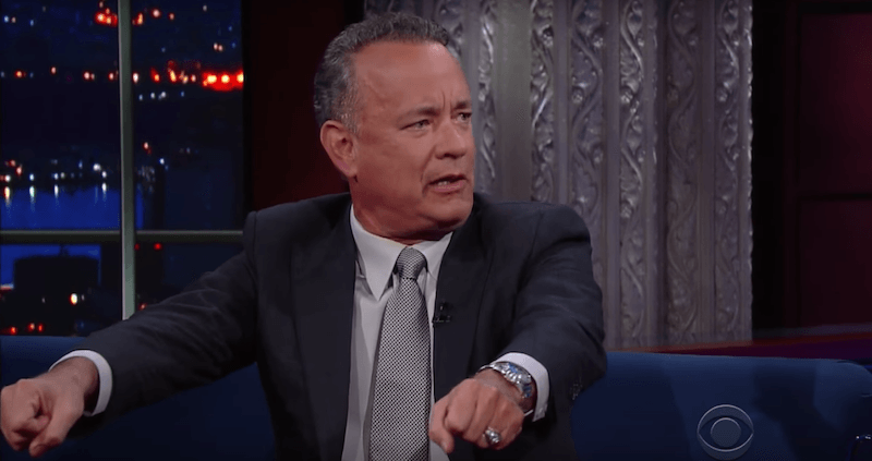 Tom Hanks had a great time vacationing with the Obamas and Oprah—except for this one small thing.