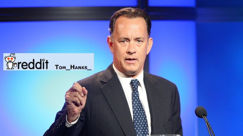 The real Tom Hanks spontaneously showed up on reddit to defend his most overlooked movie.