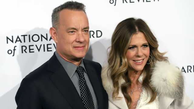 People react to learning Tom Hanks and Rita Wilson tested positive for coronavirus.