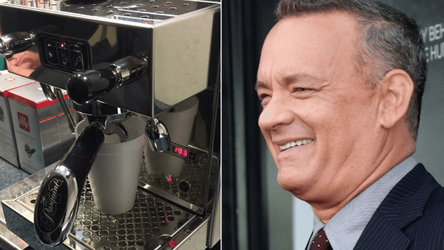 Tom Hanks sent the White House Press Corps the ultimate gift and an even better note.