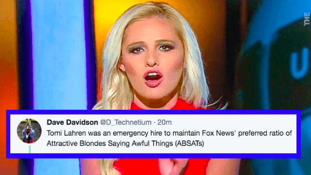 Take a wild f*cking guess where Tomi Lahren just got a job as a commentator.