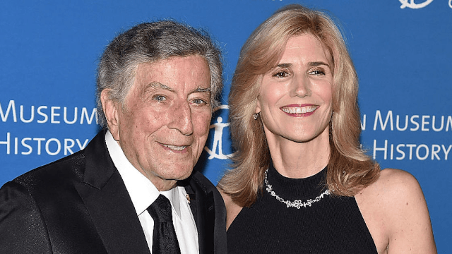 Tony Bennett talks about meeting his wife while she was still in the womb.