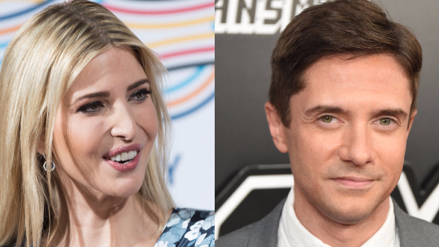 Topher Grace on Dating Ivanka Trump: 'It Wasn't a Political Statement'