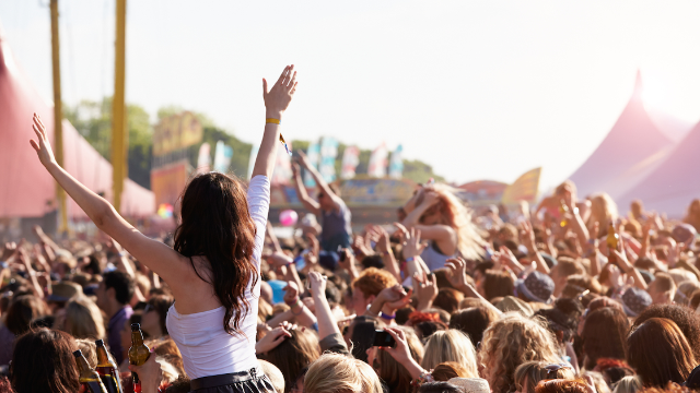 Topless woman pummels guy who groped her at music festival. Meet 2018's new hero.