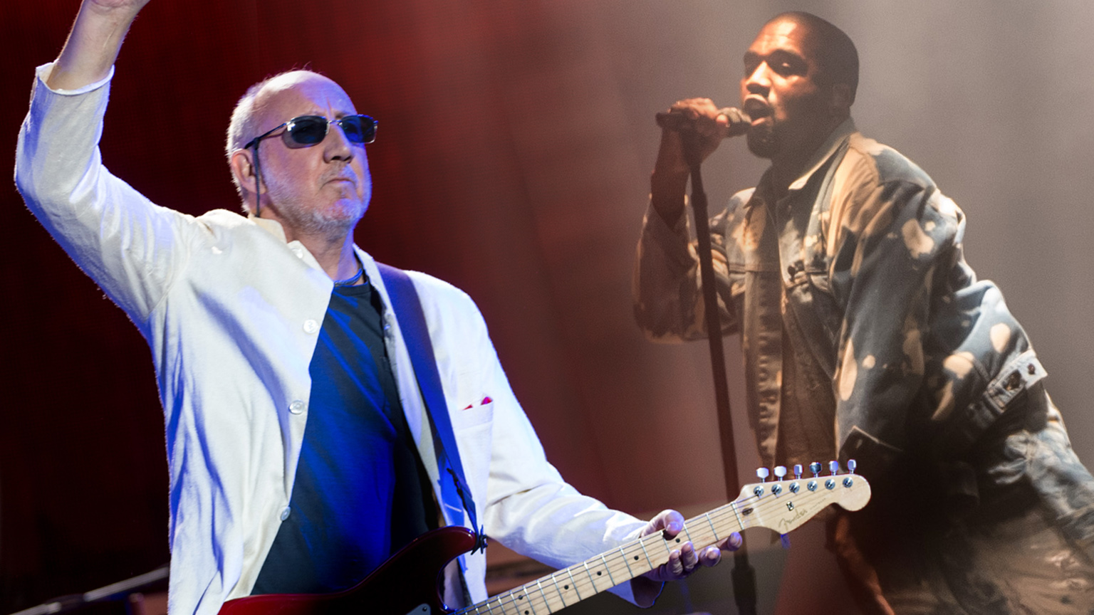 Pete Townshend rips Kanye over who is the biggest rock star in the world.
