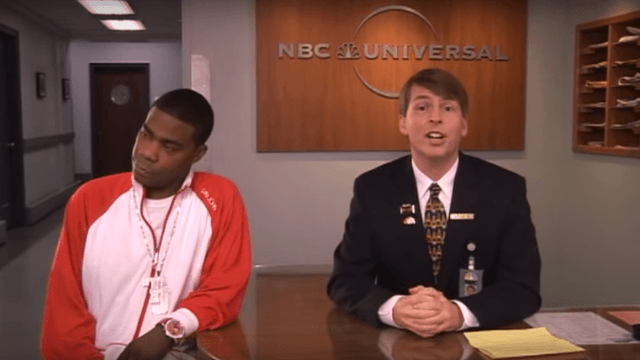 Tracy Morgan still calls Jack McBrayer from '30 Rock' by his character's name: Kenneth.