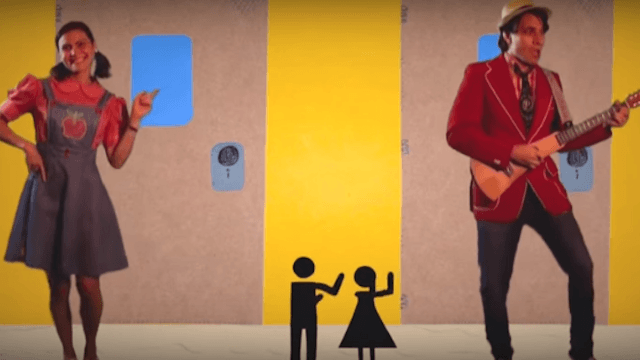 This song about the trans bathroom issue is for kids but it's adults who need to watch it.