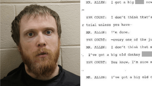 Suspect and judge get into extremely entertaining, Tarantino-esque insult match in court.