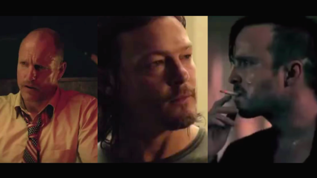 Your favorite Breaking Bad, Walking Dead & True Detective actors, all in one NSFW movie trailer.