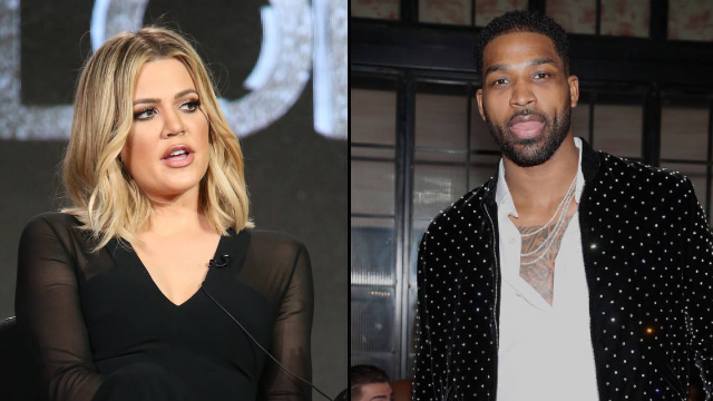 Tristan Thompson caught 'cheating' on nine months pregnant Khloe Kardashian