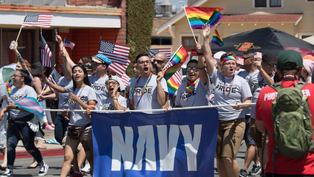 The Trump administration is 'celebrating' Pride Month by banning the two things they love the most.