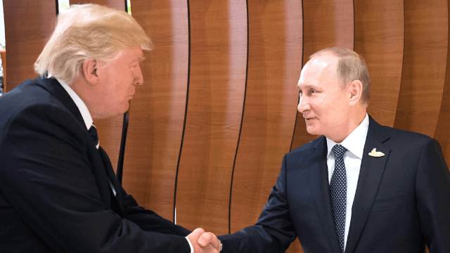 Turns out Trump and Putin had a second 'private' meeting at the G20 summit.