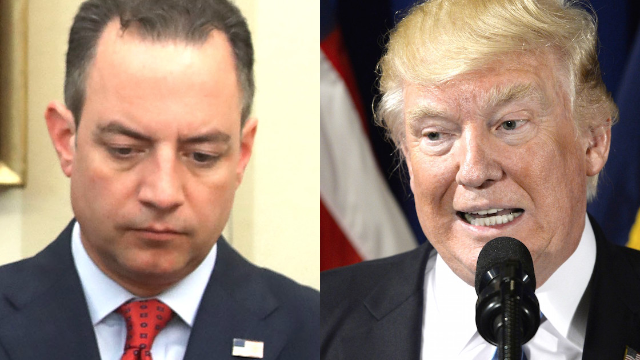 Trump just fired his Chief of Staff and Twitter is having a goodbye party.