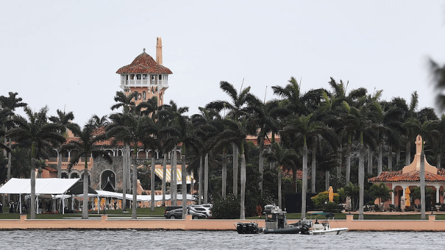President Trump authorized missile strikes against Syria from his Mar-A-Lago resort.