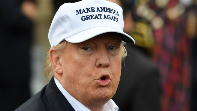 Trump reveals he's 'not a feminist' and Twitter's eyes have fully rolled back.