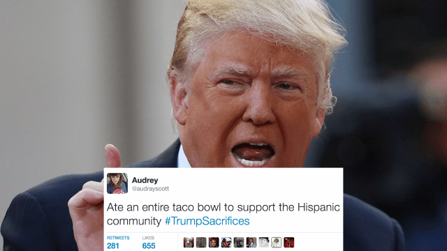 Trump claims he's made sacrifices. The internet responds with 21 hilarious examples