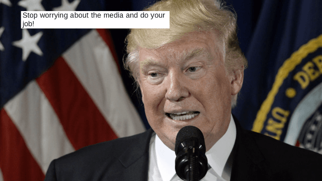 Trump slams the media for not covering the hurricane 'unless it's a really good story.' Twitter reacts.