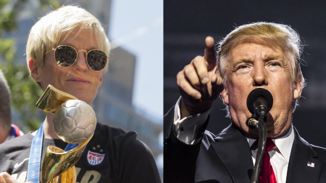 Trump attacks wrong woman in 'feud' with soccer star. Her response deserves a World Cup.