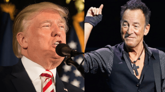 Donald Trump couldn't get Bruce Springsteen to perform at his inauguration, so he settled for the next best thing.