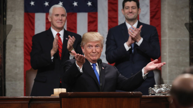 The 18 most bonkers moments from Trump's first State of the Union address.