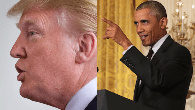 Trump, brilliant as always, suggests that Obama was involved with the Orlando shootings.