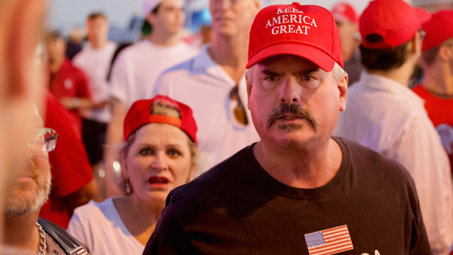 Trump supporter who claims immigrants are 'breaking into his home' gets schooled by history.