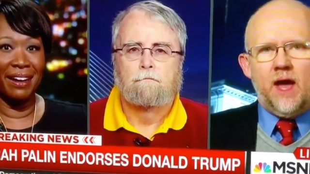 GOP strategist makes allegations about Trump supporters' masturbation habits on live TV.