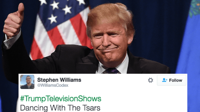 The 20 funniest #TrumpTelevsionShows for the President-elect to produce in his free time.