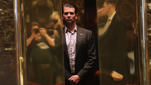Trump Jr.: Can't Recall Discussing Russia Probe With Father