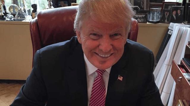 Hillary dives on Trump's Cinco De Mayo tweet the way Trump dives into his taco bowl.