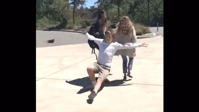 The 'trust fall challenge' is the latest dumb, dangerous thing teens are doing on social media.