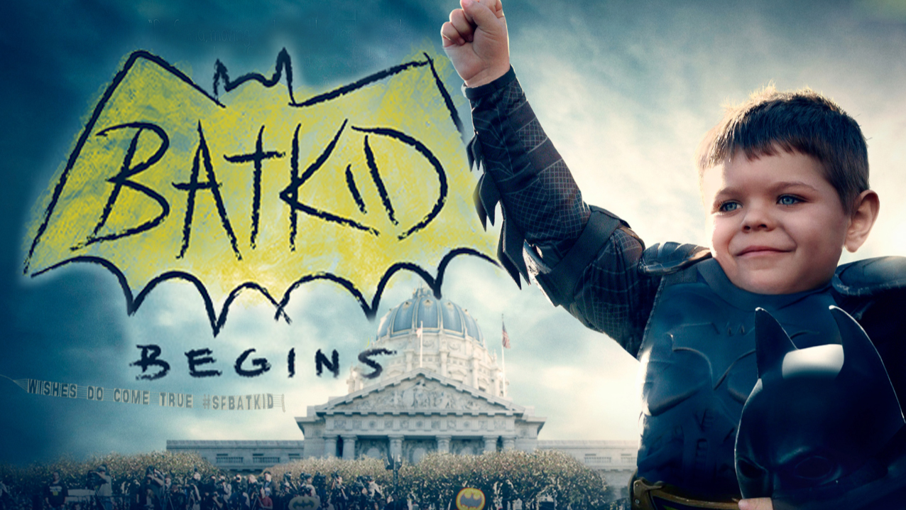 """Try not to sob while watching the trailer for """"Batkid Begins."""""""