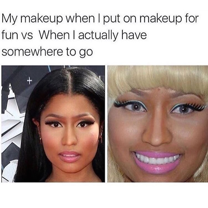 Image result for makeup memes