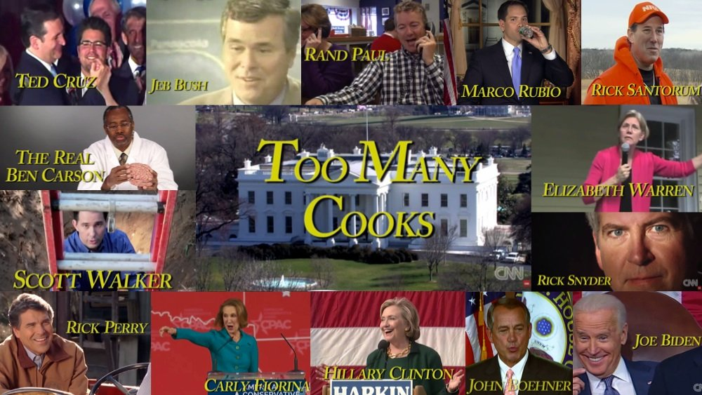 Turning the 2016 Election into 'Too Many Cooks' is the best thing CNN has ever done.