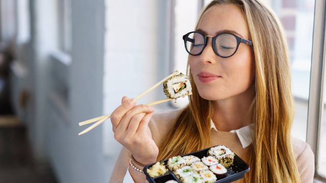 Turns out you've been eating sushi wrong this whole time.