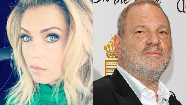 Reporter claims movie mogul Harvey Weinstein masturbated in front of her.