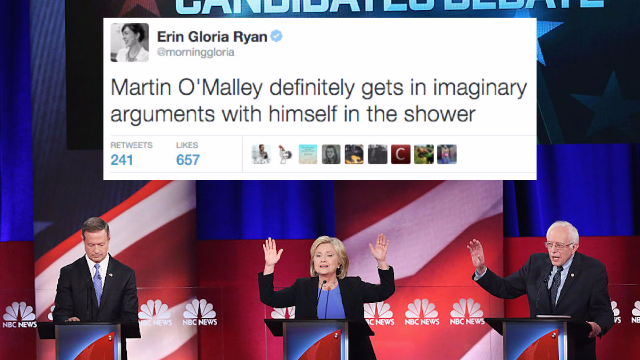 The 33 funniest reactions by comedians to the last #DemDebate before the Iowa Caucus.