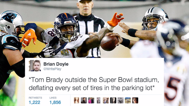 The 50 funniest reactions on social media to Super Bowl 50.