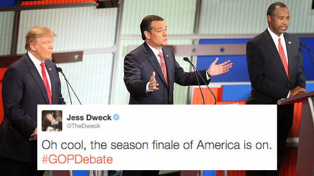 The 25 funniest reactions from comedians to the first GOP debate of 2016.