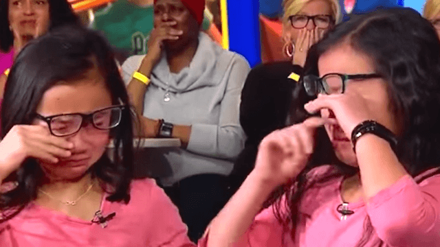 Twins separated at birth met for the first time. Then they started crying. Now you're crying.