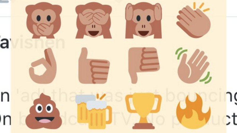 Twitter is already over the heart. Prepare yourself for a whole range of emoji reactions.