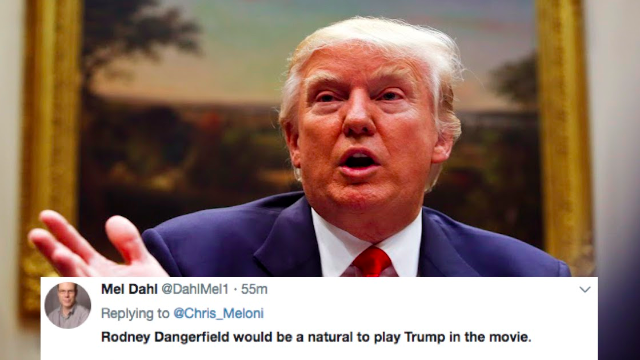 Twitter is having too much fun casting the 'Trump' movie we'll watch when this is all over.