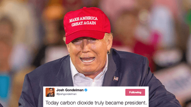Twitter reacts to Trump pulling out of climate agreement. You'll laugh through your tears.