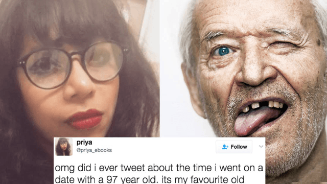 Woman's accidental OKCupid date with '97-year-old' is cute until he starts bragging about oral.