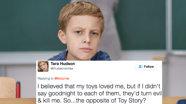 People everywhere confessed the strangest things they believed when they were kids. It got weird.