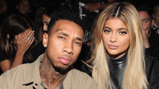 Take one guess who Tyga wants in his threesome with Kylie Jenner.