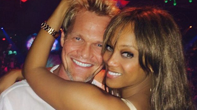 Tyra Banks announces arrival of new baby boy with Instagram of his current fashion.
