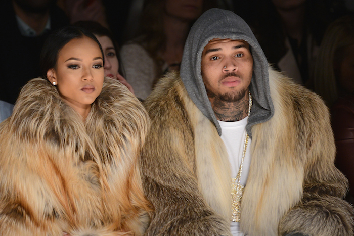 Unfollowed: Chris Brown's girlfriend dumped him over Twitter because he's a baby daddy.