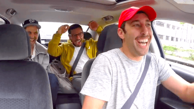 Guy tricks his friend into thinking he's an Uber driver in the kind of prank that actually makes you happy.